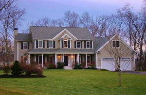 Beautiful 4300sf Colonial built in 2007 on a premium cul-de-sac lot with private 1100sf in-law set behind the garage