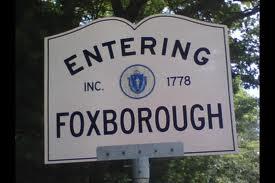 entering foxboro