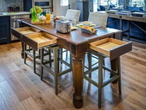 Eric Perry © 2014 Kitchen Island in HGTV Smart Home