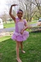 Zoe's ballerina debut