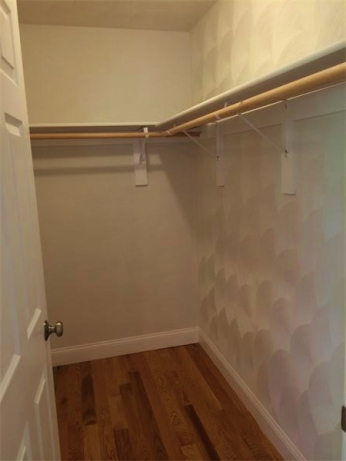 Walk-in closet in Master