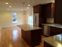 Maple, granite, & stainless Kitchen