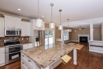24 BH kitchen island to family rm