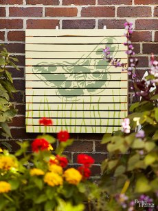 pallet outdoor painting