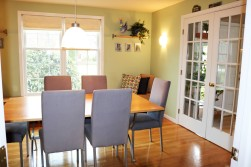 Beautiful modern dining room