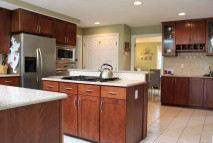 Modern kitchen offers style and function
