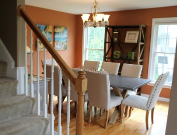 open into dining room