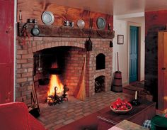 antique-colonial-fireplace