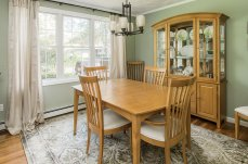 88 Slater Street dining room with harwood floors
