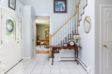 88 Slater Street two story foyer and entry