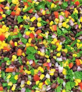 rachels black bean salsa