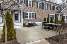 Spacious patio for relaxing and entertaining