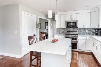 81 Avalon Drive quartz counter tops and high end appliances