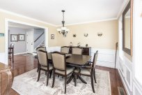 81 Avalon Drive beautiful dining room with hardwoods