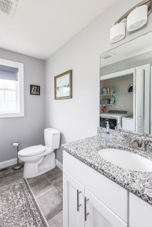 81 Avalon Drive half bath with