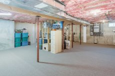 81 Avalon Drive full basement carpeted for fitness