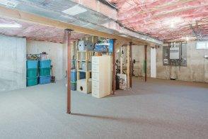 81 Avalon Drive full basement carpeted for fitness