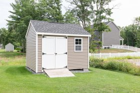 Vinyl Shed to Match 81 Avalon Drive