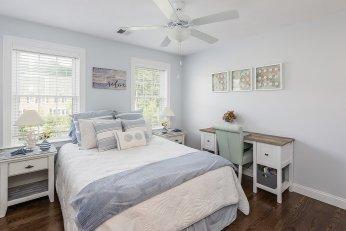 Guest bedroom (hardwood was an upgrade)