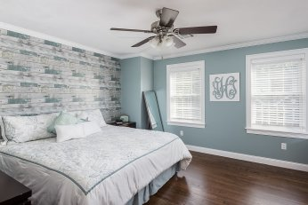 Master Bedroom with walk in closet and private bath