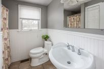 Classic updated downstairs bathroom