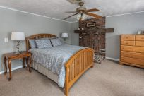 Master bedroom with potential for gas fireplace