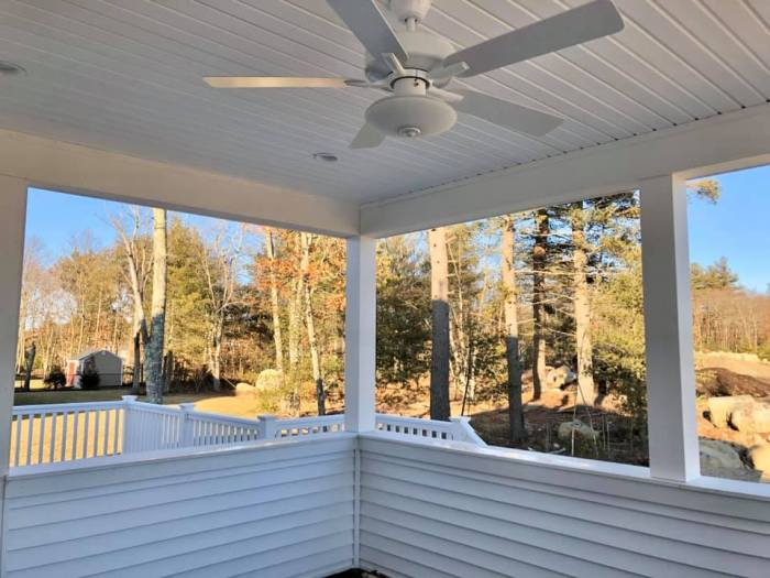 106 Ingall Lane screened porch