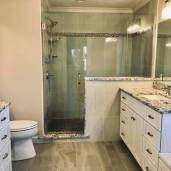 Spa-like Master Bath with dual vanities