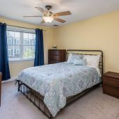 Spacious bedrooms Unit 26, Mill Stream Village