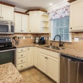 Granite and Stainless Steel kitchen Unit 26, Mill Stream Village